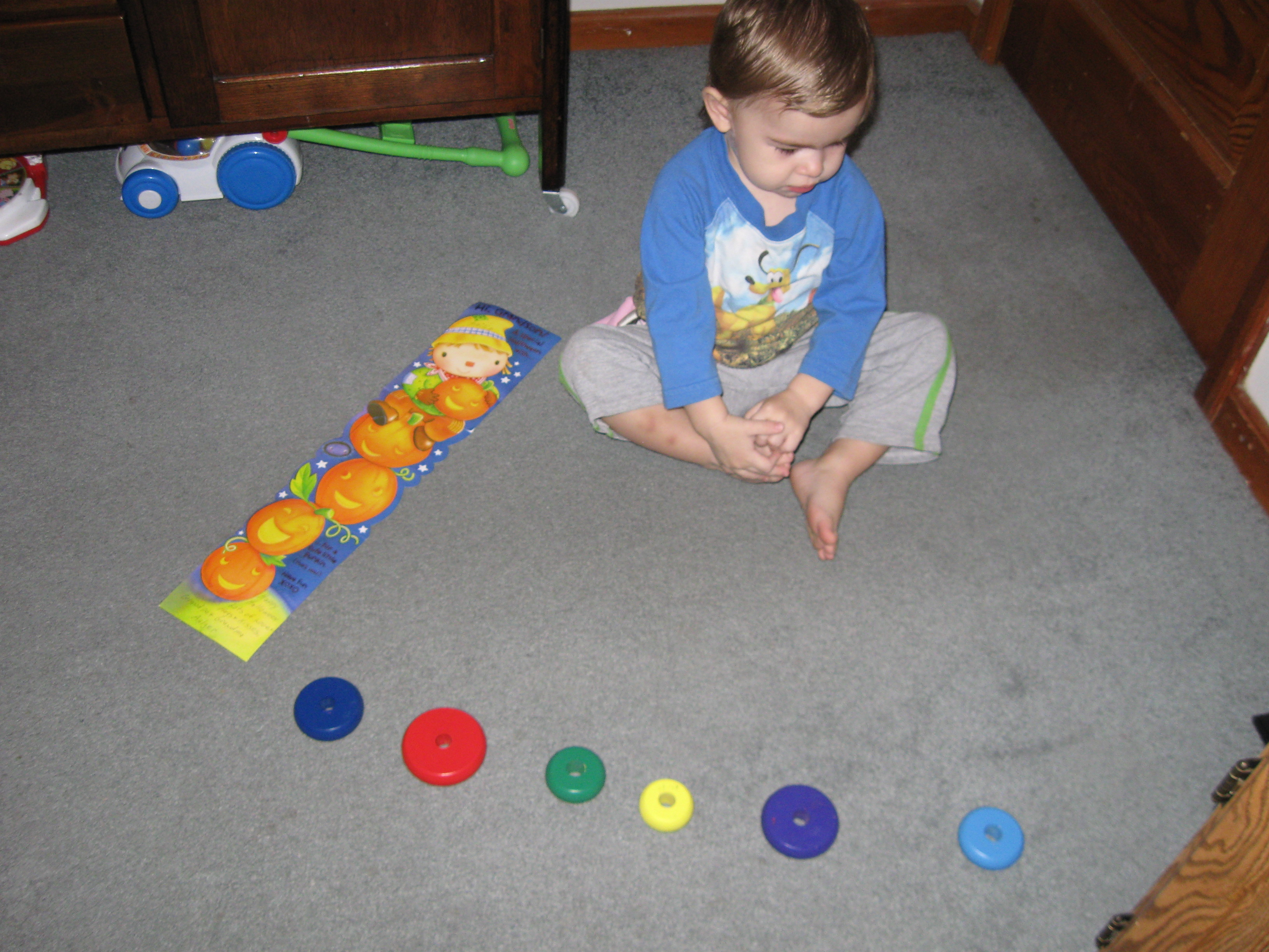 10 Toys For Autistic Boy : Line em up that cynking feeling