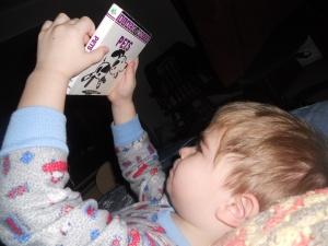 Reading instead of sleeping