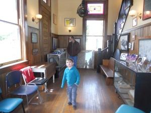 1 inside the station