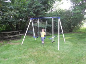 swingset relocated