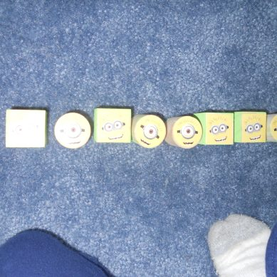 6 stickers
