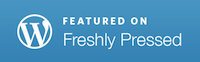 A big thank you to Emily of The Waiting Blog for selecting this post as guest curator for Freshly Pressed.