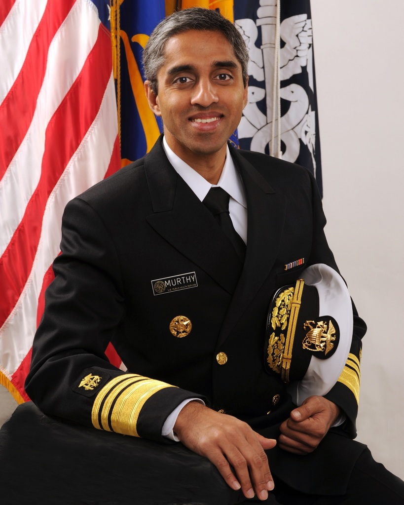 Vice Admiral Vivek H. Murthy. Or ass-kicking, walking machine.